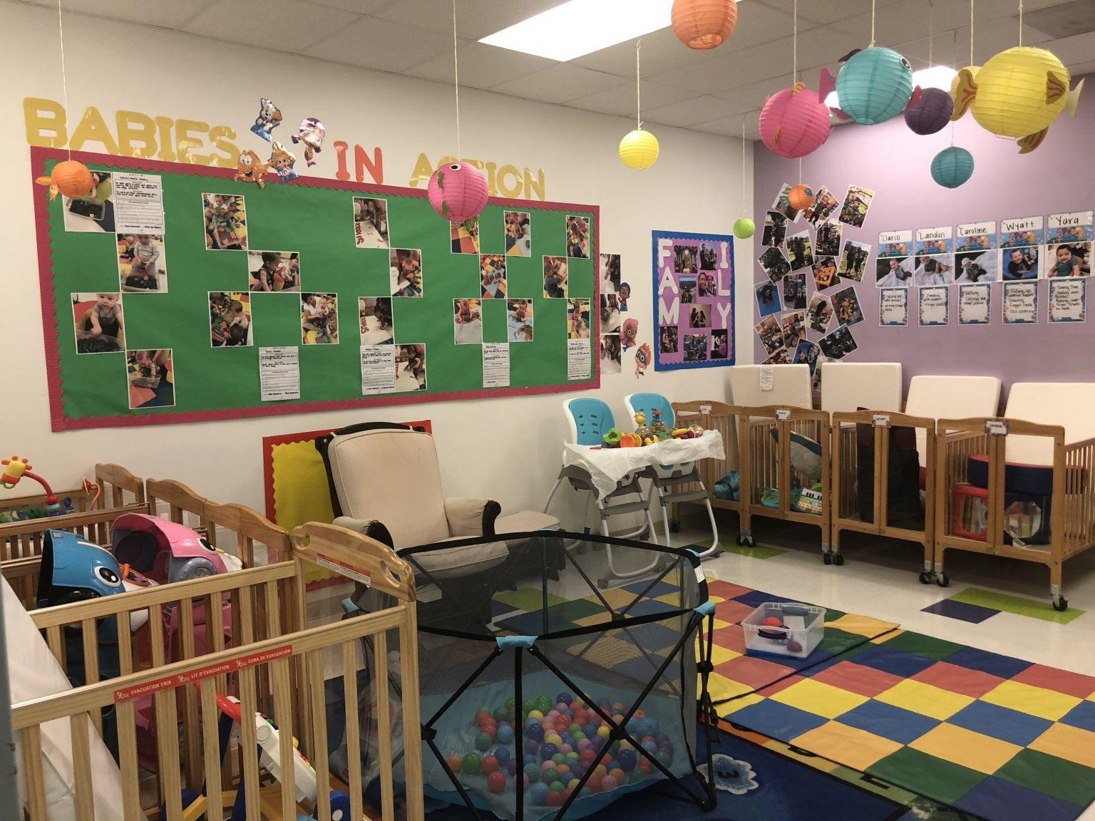 Preschool room in Alexandria location